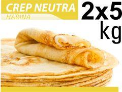 Crep Neutro Gofrelino® Caja 2 x 5 kg