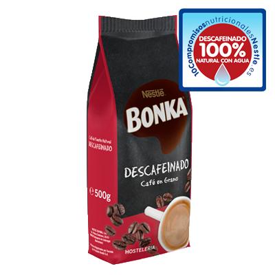 BONKA® HOSTELERIA Café en grano Descafeinado 500g