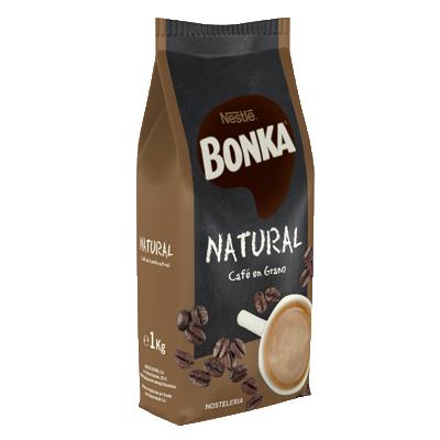 BONKA® HOSTELERIA Café en grano Natural 1kg