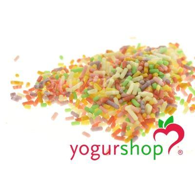 Fios de Açúcar Multicolorido Saco 1 kg