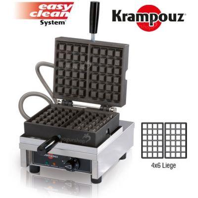 Máquina de Waffles eletrecia-krampouz-liege-wecaec4x6L