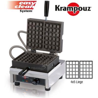 waffle 90º KRAMPOUZ Liege 4X5L