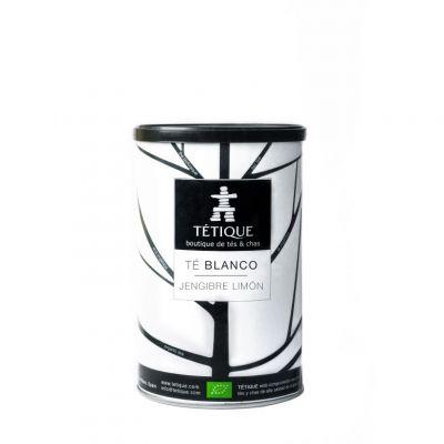 Té Blanco Jengibre-Limón BIO Lata 45 Pirámides