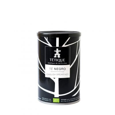Té negro English Breakfst BIO Lata 45 Pirámides