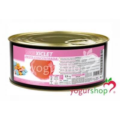 Pasta Concentrada Chicle Bote 1,5 kg