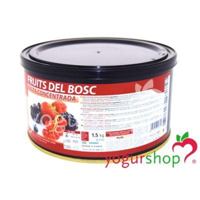Pasta Concentrada Frutas del Bosque Bote 1,5 kg