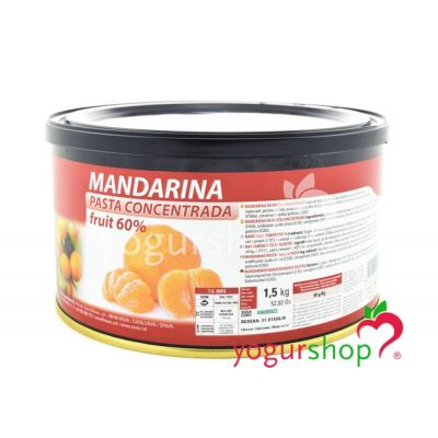 Pasta Concentrada Mandarina Bote 1,5 kg