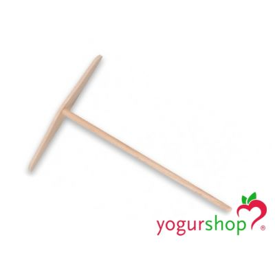 Rastrillo para Crepes de madera plano 18 cm