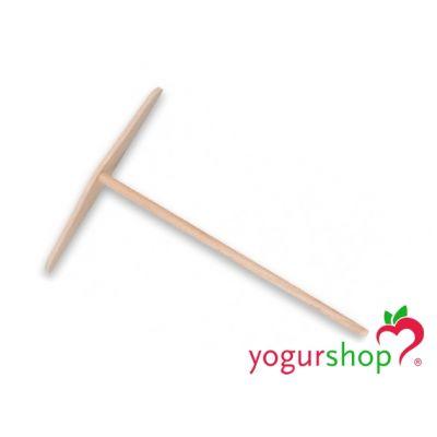 Rastrillo para Crepes de madera plano 22 cm