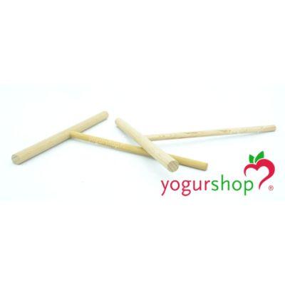 Rastrillo para Crepes de madera redondo 18 cm