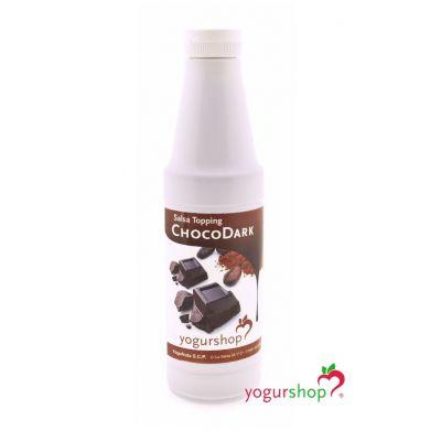 Topping Choco Dark Botella 1 kg