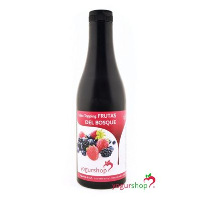 Topping Frutos del Bosque Botella 1,4 kg