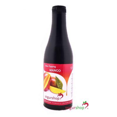 Salsa Topping Mango Botella 1,4 kg